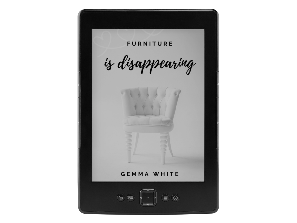 Furniture is Disappearing on Amazon Kindle