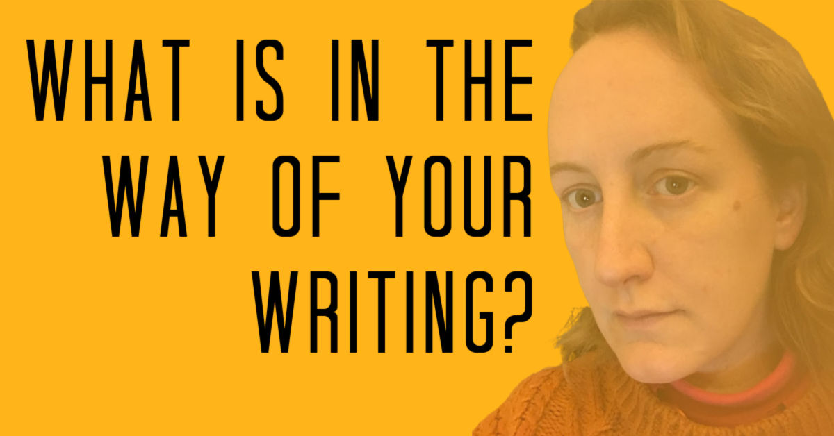 What is in the way of your writing? Are you an avoidant writer?